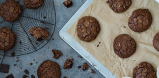 galletas de brownie - NDV
