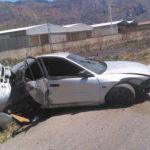 lesionada mujer en accidente en ARC - noticiero de venezuela