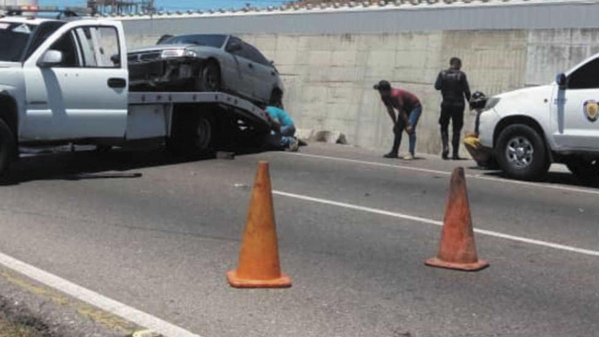 lesionada mujer en accidente en ARC- noticiero de venezuela