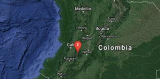 Temblor en Colombia - NDV