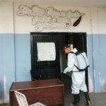 Plan de desinfección en Naguanagua - NDV