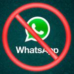 WhatsApp bloqueo usuarios