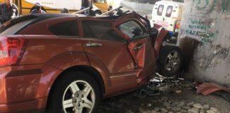 Accidente en la Autopista Francisco Fajardo - ACN