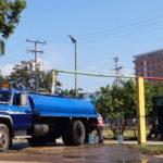 alcaldía de Naguanagua distribuye agua - Noticiero de Venezuela