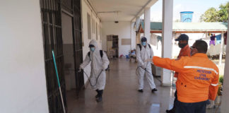 Plan de desinfección en Naguanagua - noticiero de venezuela