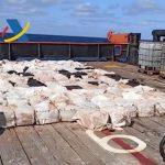 Incautan 4 toneladas de cocaína en Galicia - NDV