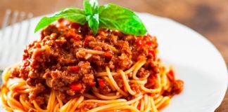 receta de espagueti a la boloñesa - NDV