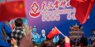 Wuhan cierra hospital temporal