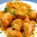 receta de pollo a la naranja - NDV