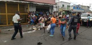 Protestas en upata - NDV