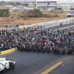 Disturbios en Las Pulgas - Noticiero de Venezuela