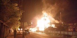 Incendio de fábrica en Tinaquillo - Noticiero de Venezuela