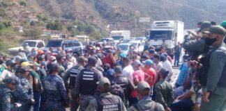 Protestan en la Autopista Gran Mariscal de Ayacucho - Noticiero de Venezuela