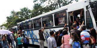 transporte público aumentó en Valencia - Noticiero de Venezuela