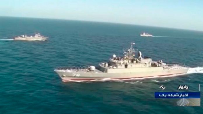 buque iraní - ndv