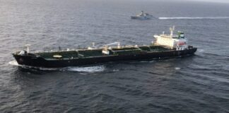 tercer buque iraní - NDV