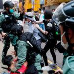 manifestantes Hong Kong - ndv