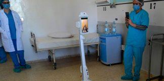Robot en Hospital de Túnez - NDV