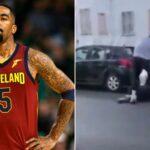 Exjugador de la NBA golpeó a manifestante - Noticiero de Venezuela