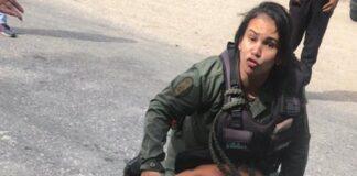 Guardia Nacional agrede abogada - Noticiero de Venezuela