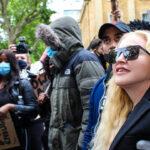 Madonna participó en la protesta de Londres - Noticiero de Venezuela