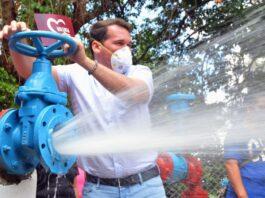 Marvez reactivó pozo de agua - NDV