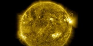 Sonda solar muestra pequeñas fogatas - NDV