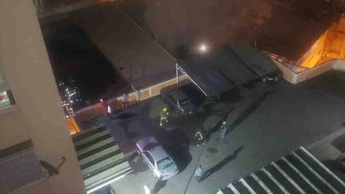 Explosión de bombona de gas en Caracas - NDV