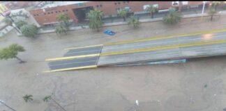 Fuertes precipitaciones en Anzoátegui - NDV