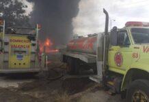 Incendio en Good year - NDV