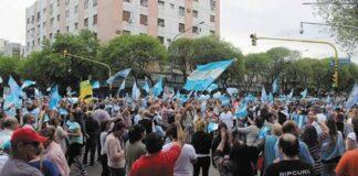 Manifestaciones en Argentina - Noticiero de Venezuela