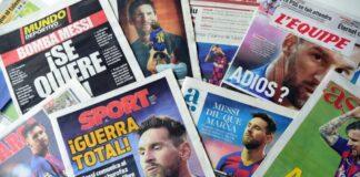 Messi pide su libertad a Barcelona - NDV