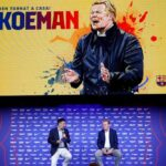 Ronald Koeman presentado por Barcelona - NDV