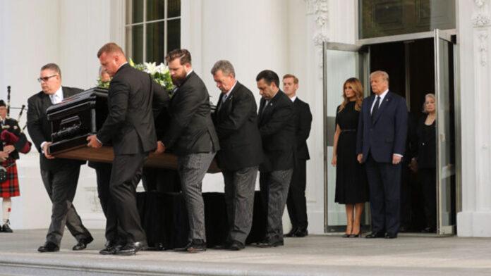 Funeral de Robert Trump - NDV