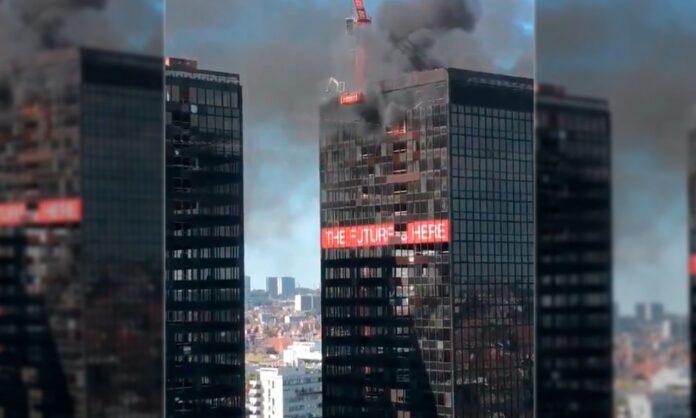 Incendio World Trade Center Bélgica - NDV