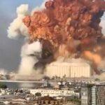 Explosión en puerto de Beirut - NDV