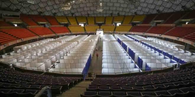 Poliedro de Caracas para pacientes de covid-19 - NDV