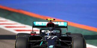 Bottas lideró prácticas del GP de Rusia - NDV