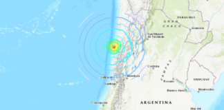 Fuerte temblor en Chile - NDV