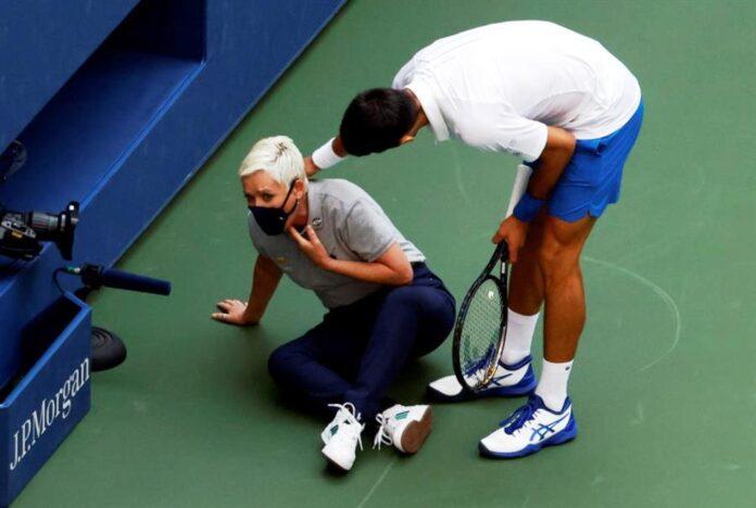 Descalificacion de Novak Djokovic - NDV