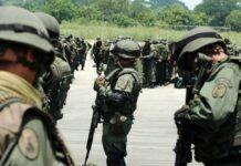 Enfrentamiento entre FARC y GNB