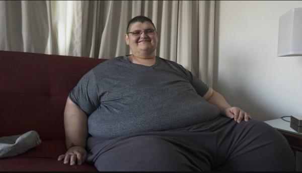 El hombre más gordo superó covid-19 - NDV