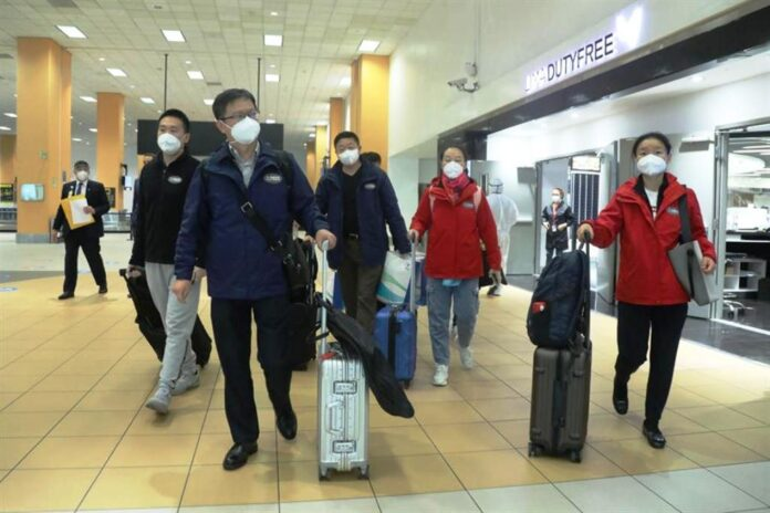 Vacuna china llegó a Perú - NDV