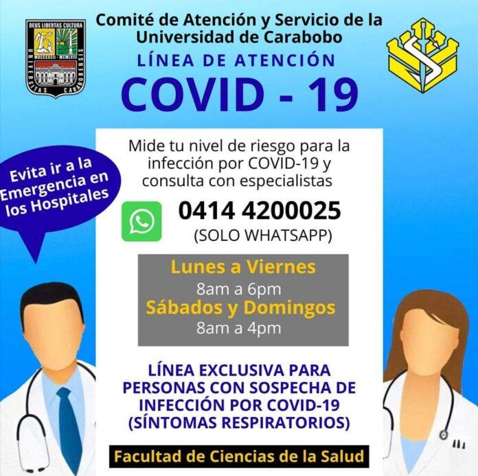 Atención médica vía WhatsApp - NDV