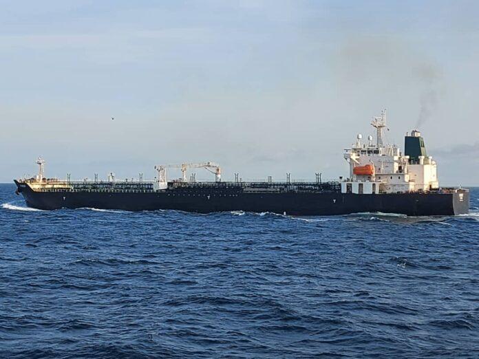 buque iraní Forest - ndv
