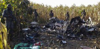 muertos del accidente aéreo en Guatemala - ndv