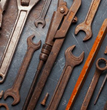 Cómo eliminar óxido de las herramientas - NDV