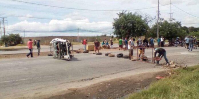 protestas por escasez de gasolina en margarita - NDV