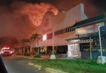Incendio en Bingo en Porlamar - NDV
