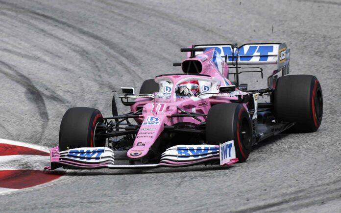 Checo Pérez sube a la quinta posición